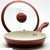 Сковорода 28см  4,5л покрытие керамика Mayer&Boch MB-22214