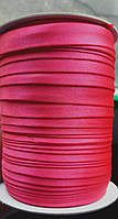 1,5см косая-бейка ярко-розовая 1боб (Окантовочная атласная)