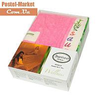 Женский набор в сауну Gursan Bamboo розовый