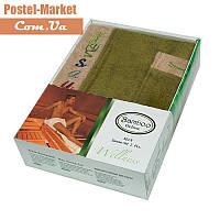 Мужской набор в сауну Gursan Bamboo зеленый
