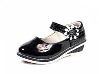 Туфли школьные Шалунишка:300-163Черный,р.25,26,27