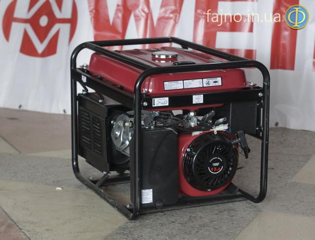 Генератор Weima WM-5000E-ATS с системой автозапуска фото 2