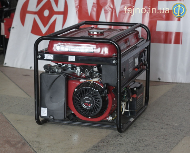 Генератор Weima WM-5500E-ATS с системой автозапуска фото 4