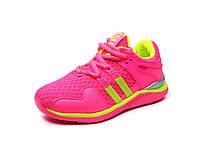 Детская спортивная обувь кроссовки Clibee:K-161 Малина-Салат,р.31,34,35