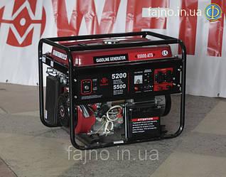 Генератор бензиновый Weima WM5500-ATS (5.5 кВт, автоматический ввод резерва)