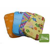 Детский матрасик в коляску, 35х80х3 см (поликоттон, поролон, кокос) ТМ Хомфорт