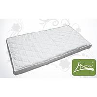 """Белый матрас """"Облачко"""" - 3 в детскую кроватку (120*60*7 см, поролон, микрофибра стеганная) ТМ Хомфорт"""