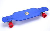 Лонгборд фрирайд пластиковый Penny 29in PU (PU, р-р деки 72,5x20см, синий-красный)