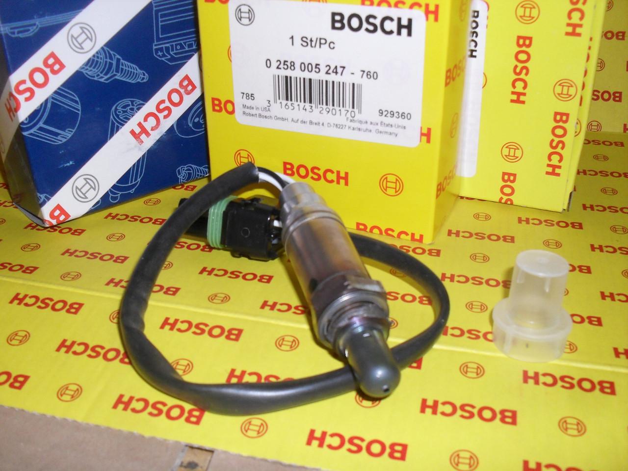 Лямбда-зонд Bosch 0258005247, лямбда ВАЗ 2110 после катализатора, 0 258 005 247,
