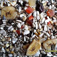 Корм для попугаев + цукаты и сухофрукты (DELI NATURE-BEYERS BELGIUM)(Весовой) № 64, фото 1