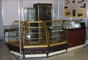 Угловая кондитерская витрина ВХСв-У1Д Carboma, фото 2
