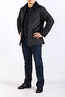 Стеганная мужская куртка Montana черного цвета
