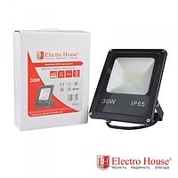 LED прожектор 30W IP65 ElectroHouse