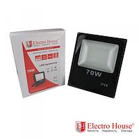 LED прожектор 70W IP65 ElectroHouse