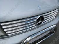 Хром накладки на решотку радиатора Mercedes Vito W 638