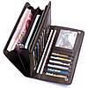 Мужской кожаный портмоне кошелек Baellerry Italia + подарок, фото 7