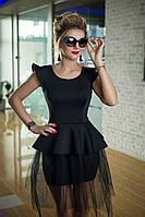 Вечернее черное Платье Оливи