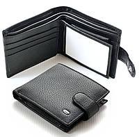 Мужской кожаный кошелек Sergio Torretti маленький, фото 1