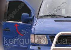 Хром накладки окантовка окон Mercedes Vito W 638