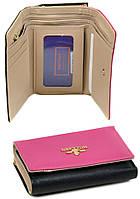 Женский кожаный кошелек Bretton складной, фото 1