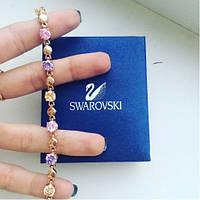 """Браслет женский """"Selena"""" с разноцветными камнями."""