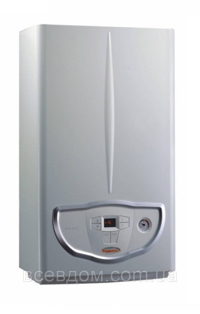Котел газовый настенный Immergas Eolo Mini 28 3E турбо 2-х контурный + комплект дымохода