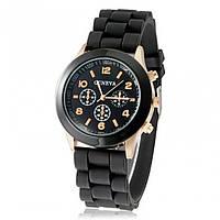 Часы женские Geneva черный реплика, фото 1