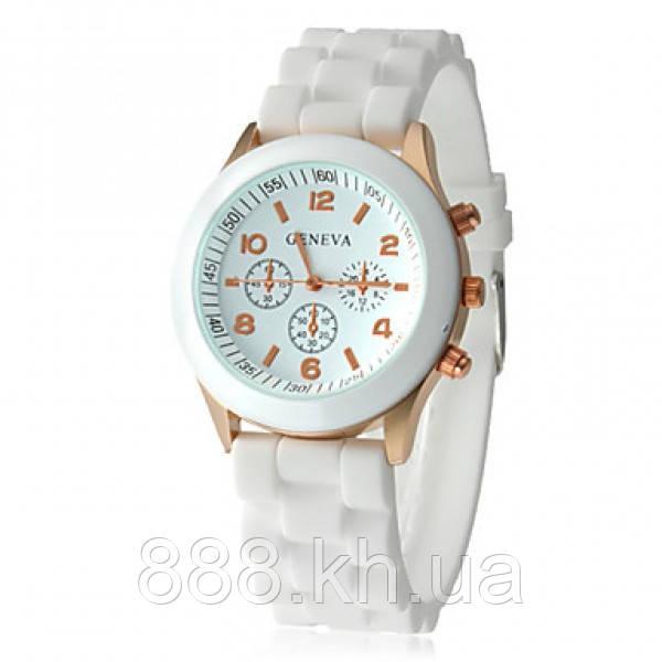 Часы женские Geneva белый реплика