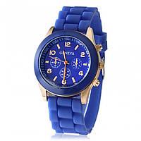 Часы женские Geneva синий реплика, фото 1