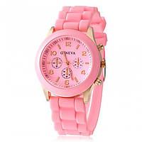 Часы женские Geneva розовый реплика