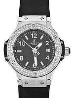 Часы женские HUBLOT Big Bang Steel Diamonds 001 реплика, фото 1