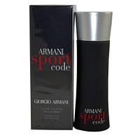 Мужская туалетная вода Armani Code Sport (освежающий древесно-цитрусовый аромат)  AAT