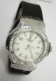 Часы женские HUBLOT Big Bang Steel Diamonds 004 реплика