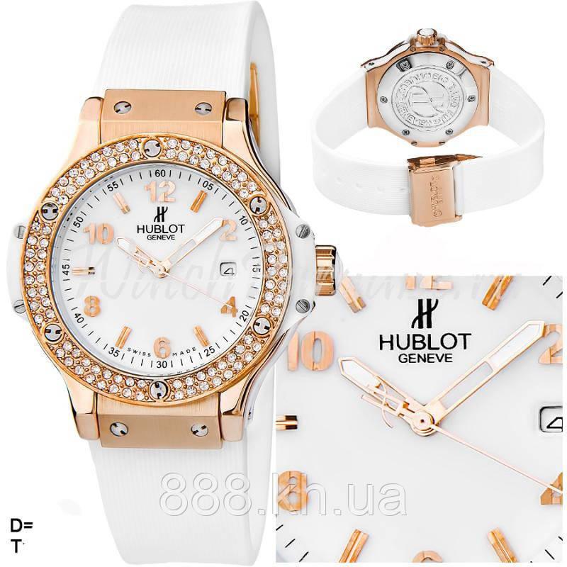 Часы женские HUBLOT Big Bang Steel Diamonds 005 реплика