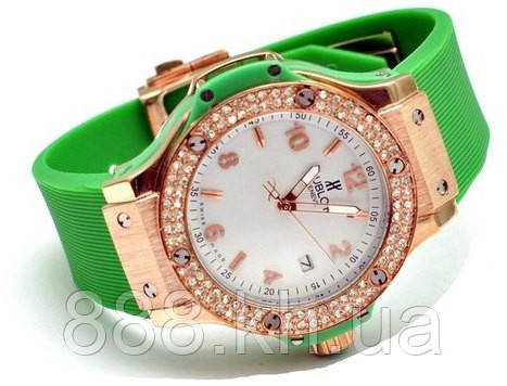 Часы женские HUBLOT Big Bang Steel Diamonds 014 реплика