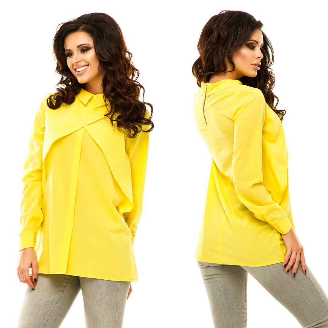 e509f60511546 Блузка рубашка женская молодёжная Ассорти цветов № 184 анд - магазин одежды