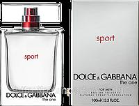Мужская туалетная вода Dolce & Gabbana The One Sport Men (бодрящий, динамичный аромат)  AAT