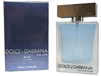 Мужская туалетная вода Dolce&Gabbana The One blue (свежесть цитрусовых со специями и древесными нотами)  AAT