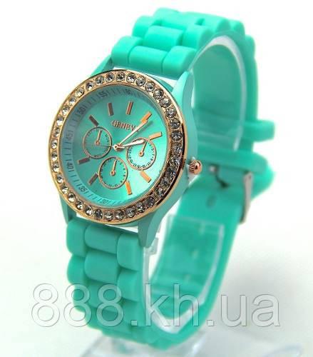 Часы женские Geneva Crystal бирбза реплика