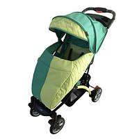 Детская прогулочная коляска Babyhit Tetra Green (22-745)