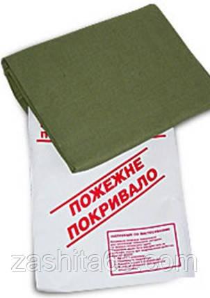 Пожарная кошма усиленная  1 сл. (огнезащитный экран) 1,50 х 1,80 м