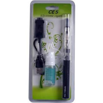 Электронная сигарета eGo, CE5 1100mAh + жидкость (Блистерная упаковка) №609-31 Черная, фото 2