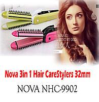 Многофункциональный стайлер для волос 3в1 Nova NHC-9902