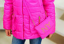 Куртка весенняя для девочки Модница, размер 32 цвет розовый, фото 2