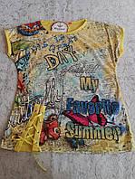 Стильная футболка на девочек 128,140,152,164 роста Favorite