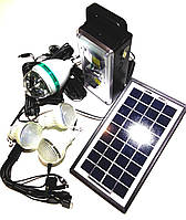 Універсальна портативна сонячна система GDLITE GD-8023, фото 1