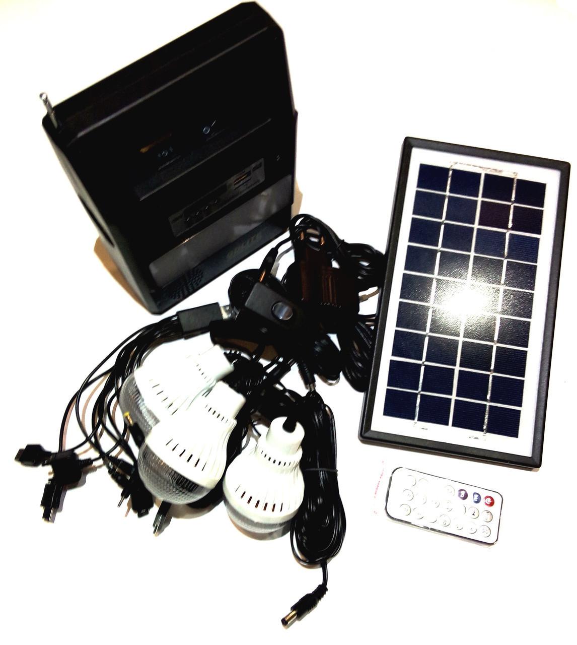 Портативная универсальная солнечная система GDLITE GD-8126, фото 1