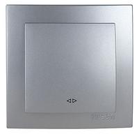 NILSON TOURAN Металлик Выключатель перекрестный серебро