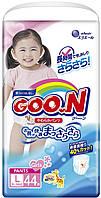 Трусики-подгузники GOO.N для девочек 9-14 кг (размер L, 44 шт) (853081)