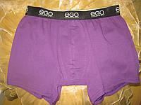 ЕGO трусы шорты мужские ( Боксеры) фиолетовые, фото 1